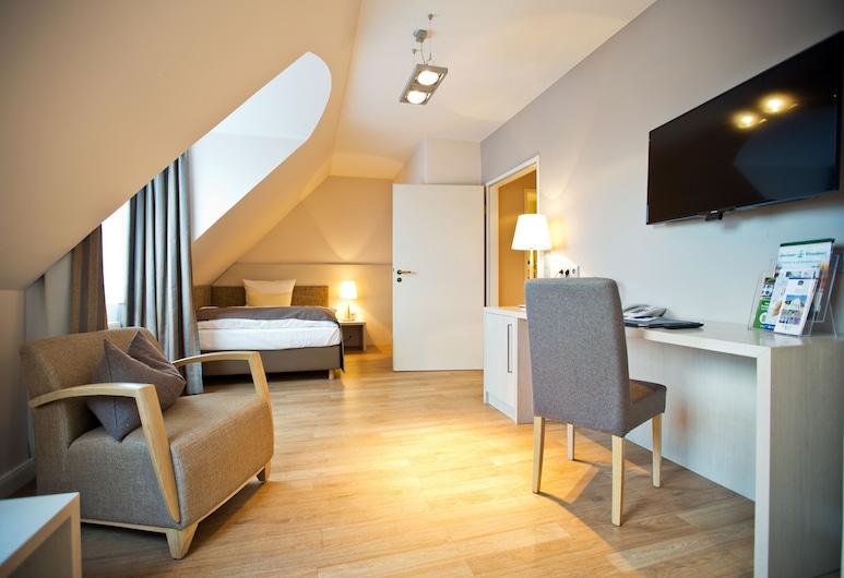 Best Western Plus Theodor Storm Hotel, Husum, Rom – comfort, 1 queensize-seng (Comfort Plus), Gjesterom