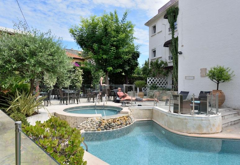 La Villa Cannes Croisette, Cannes, Sundlaug