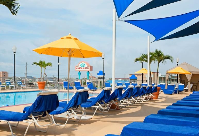 格蘭溫泉飯店, 海洋城, 室外游泳池