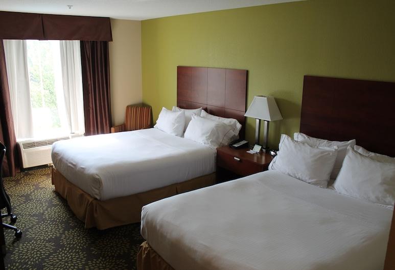 هوليداي إن إكسبرس آند سويتس ستاركفيل, ستاركفيل, غرفة - سريران كبيران - لغير المدخنين, غرفة نزلاء
