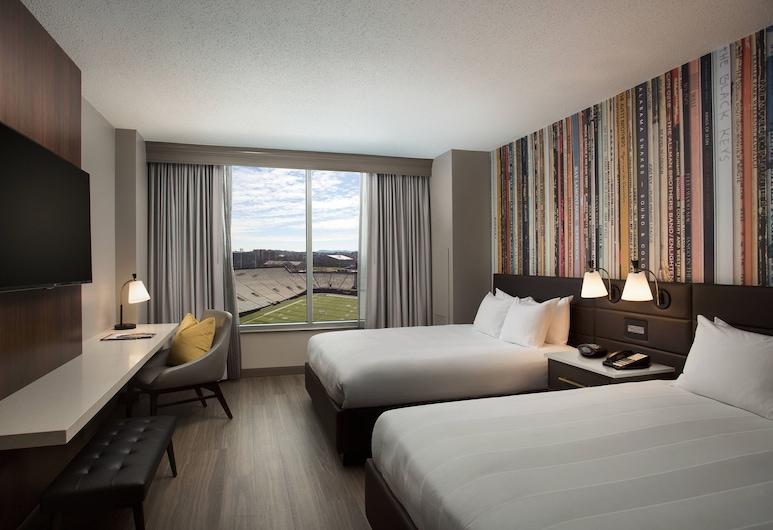 Nashville Marriott at Vanderbilt University, Našvilis, Kambarys, 1 labai didelė dvigulė lova (Guest), Svečių kambarys