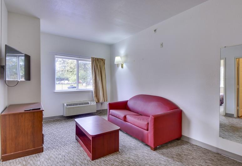 InTown Suites Extended Stay Austin TX – Research Blvd, Austin, Suite, 2 chambres, Coin séjour