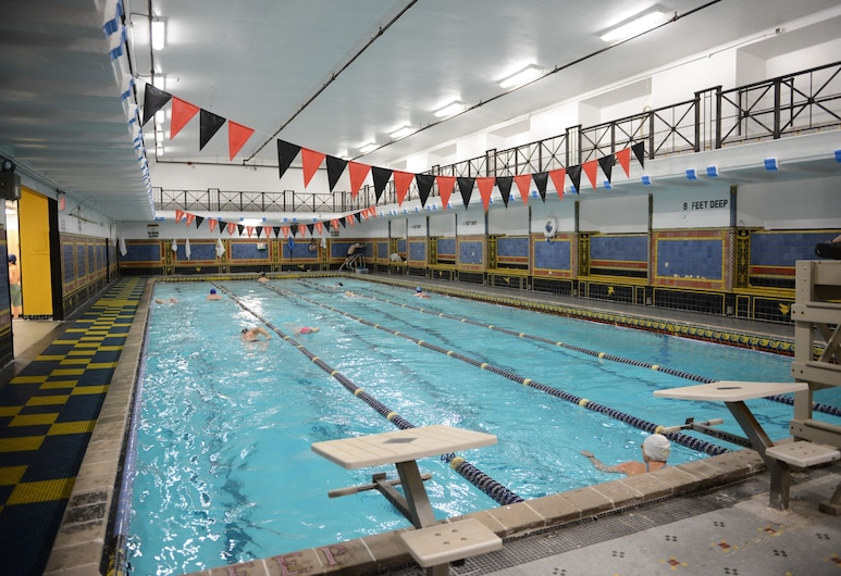 West Side YMCA, New York, Indoor Pool
