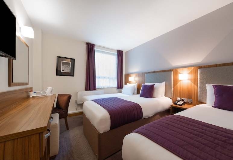 Quality Hotel Hampstead, London, Standard Twin Room, Guest Room