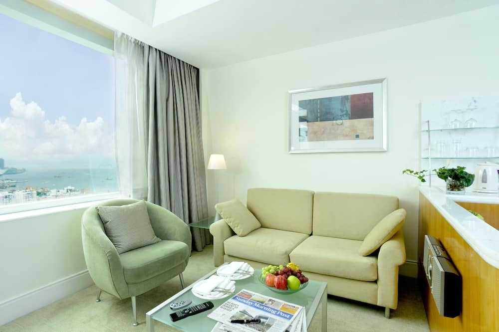 Grand Double or Twin Room - Living Area