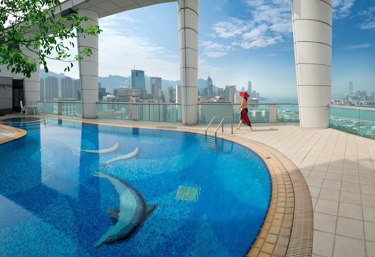 Metropark Hotel Causeway Bay HK, Hong Kong, Alberca al aire libre