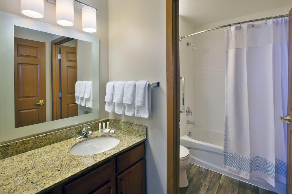 Lakosztály, 2 hálószobával, nemdohányzó, kilátással - Fürdőszoba