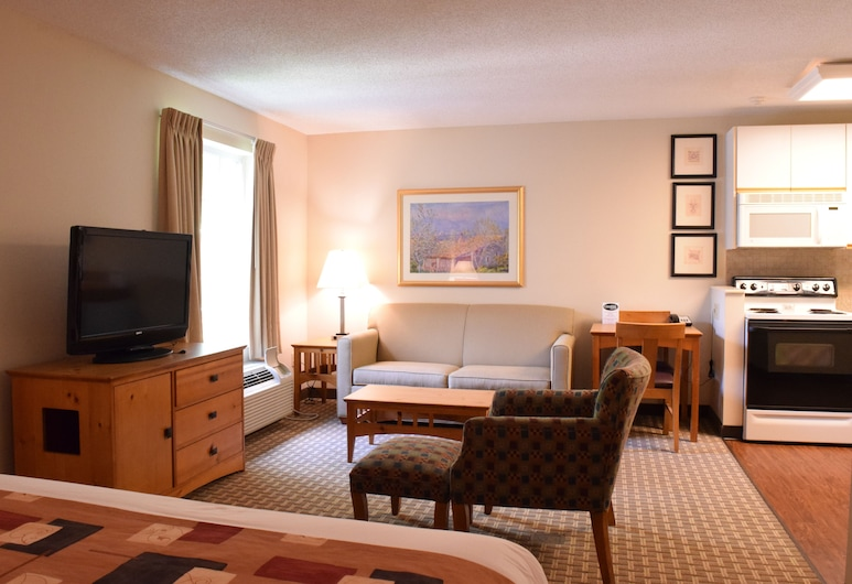 Cresthill Suites Syracuse, East Syracuse, Studio Suite, 1 Bedroom (1 King Bed), Guest Room