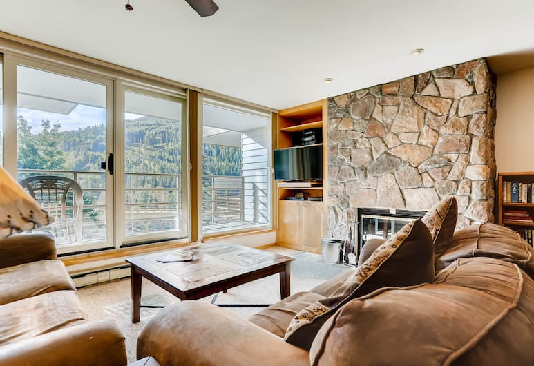 Simba Run Vail Condominiums, Vail, Deluxe Condo, 2 Bedrooms, Living Room