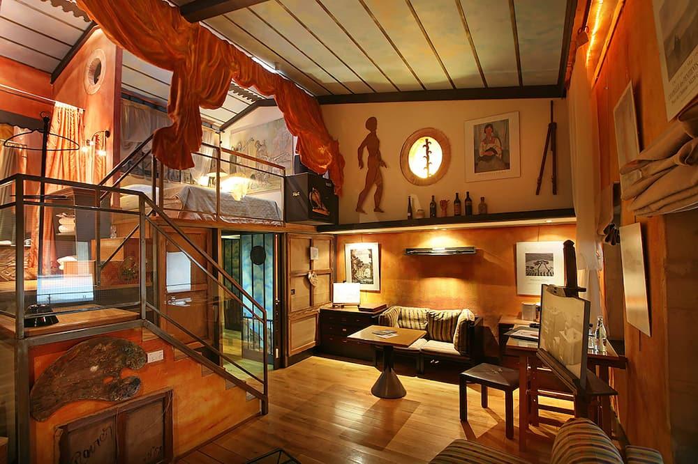 Zimmer (Ateliers) - Wohnzimmer