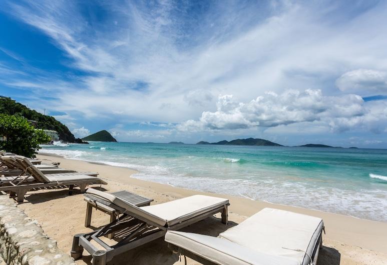 Sebastian's on the Beach, West End, Camera, 1 letto king, balcone, di fronte alla spiaggia, Vista spiaggia/mare