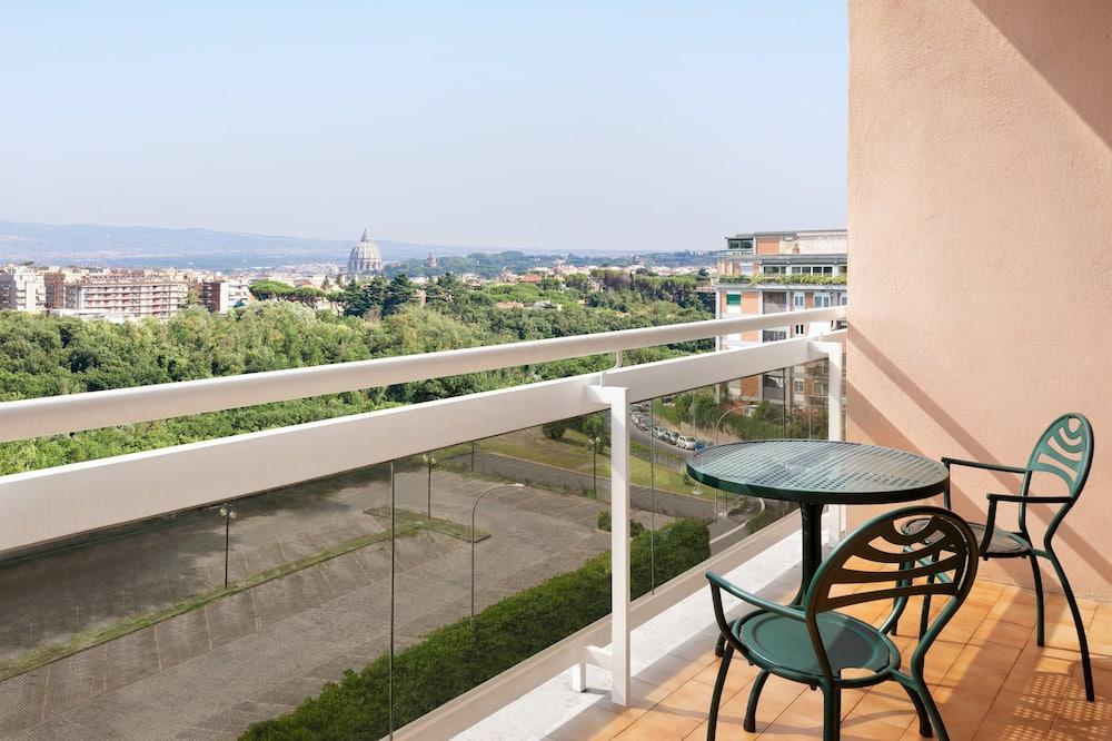 Apartament typu Suite, Łóżko podwójne, balkon, Widok - Pokój