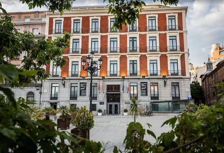 Hotel Intur Palacio San Martin, Madryt, Fasada hotelu