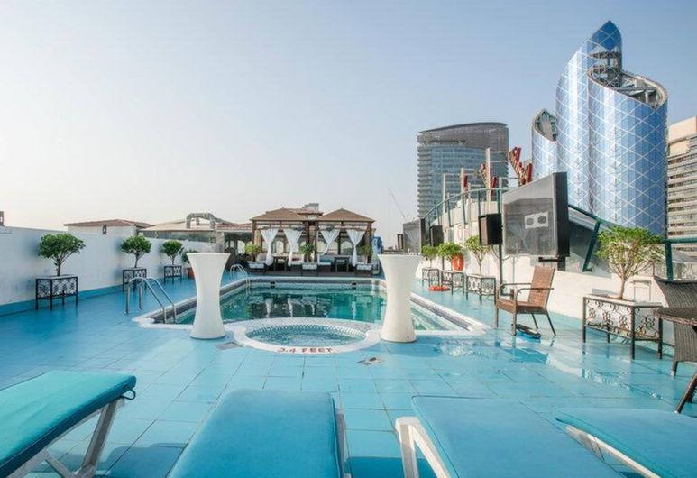 Regent Palace Hotel, Dubaj, Taras na dachu