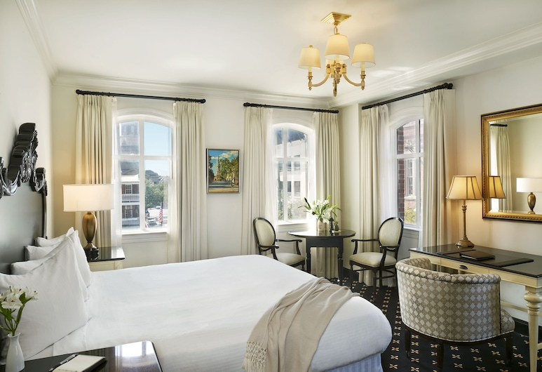 French Quarter Inn, Charleston, Luxury Suite, 1 King Bed, Balcony, Guest Room