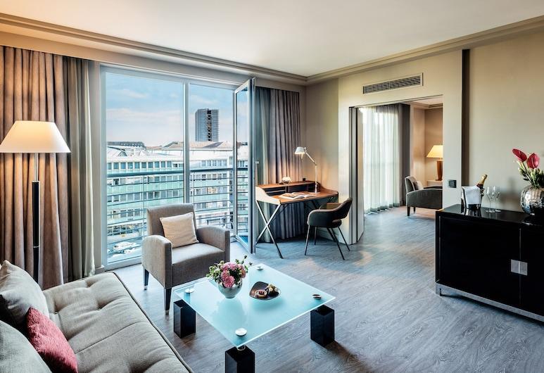 Le Méridien München, Múnich, Suite ejecutiva, 1 habitación, no fumadores, Habitación