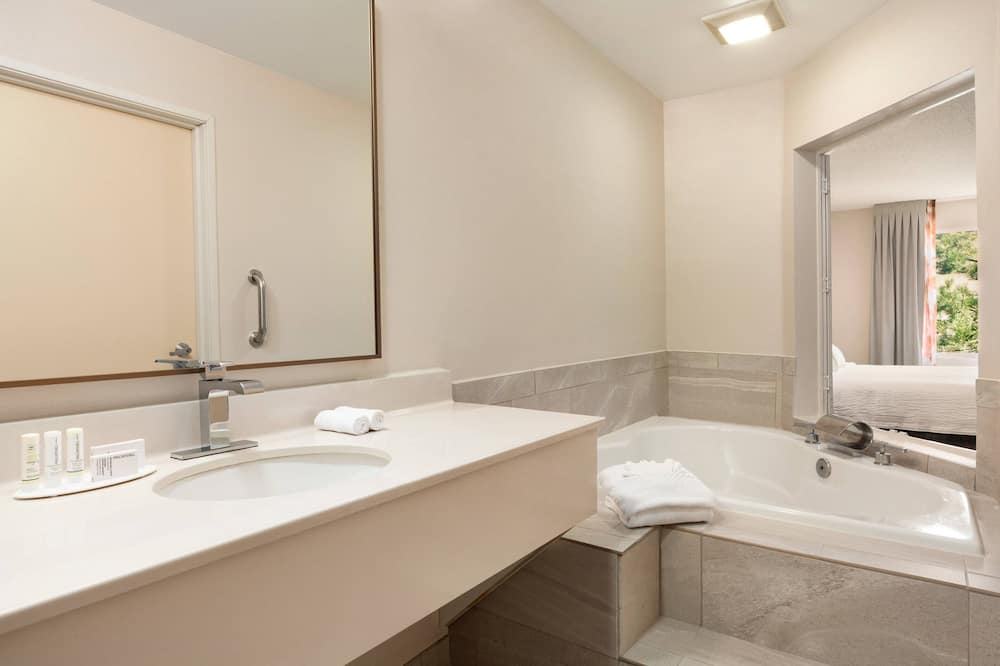 Pokoj typu Deluxe, dvojlůžko (200 cm), nekuřácký - Koupelna