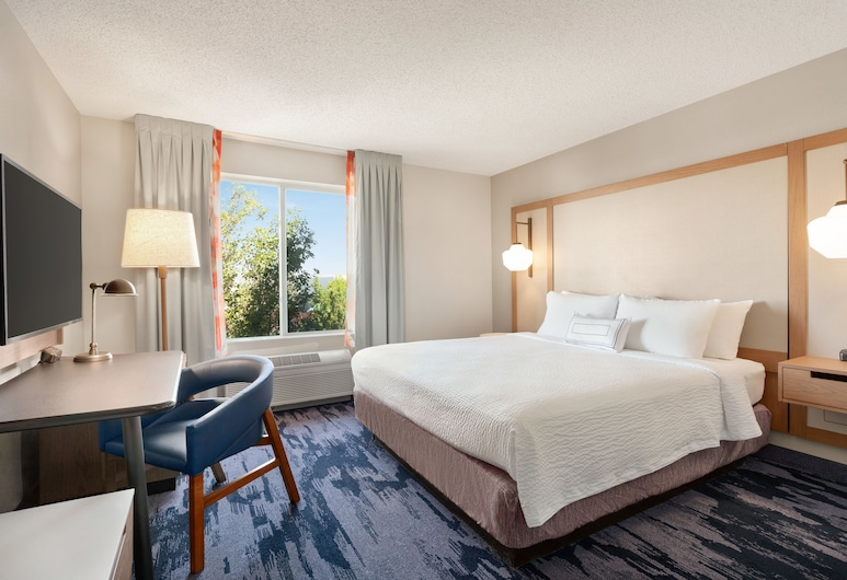 Fairfield Inn & Suites Reno Sparks, Sparks, Room, 1 King Bed, Guest Room