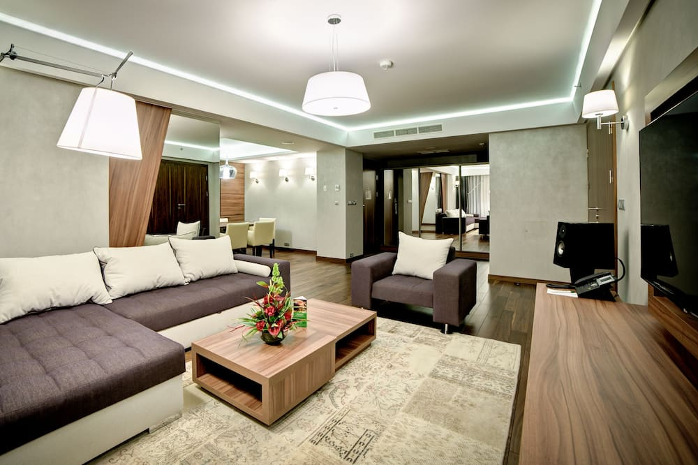 Presidential-Suite, 1King-Bett, Nichtraucher - Wohnzimmer