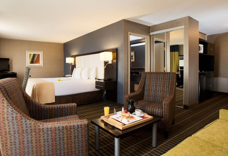 Holiday Inn Hotel & Suites Mississauga, Mississauga, Apartament typu Deluxe Suite, Łóżko king, dla niepalących, Pokój