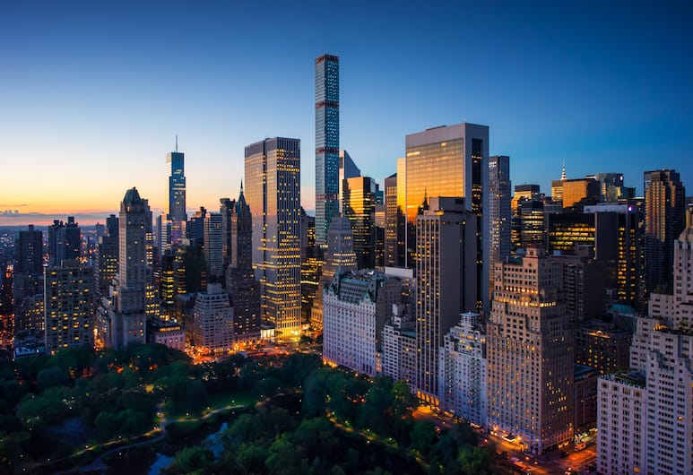 The Ritz-Carlton New York, Central Park, New York, Aerial View