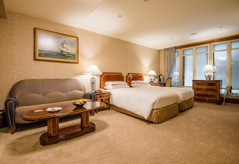 Evergreen Laurel Hotel Taipei, Taipéi, Habitación Deluxe, Habitación