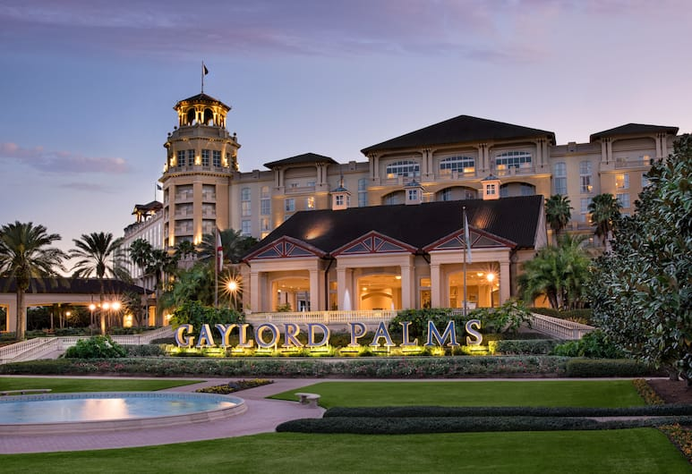 Gaylord Palms Resort & Convention Center, Kissimmee, Hotel Front