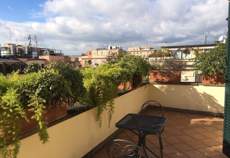 Hotel Principe Di Piemonte, Roma, Teras/Veranda