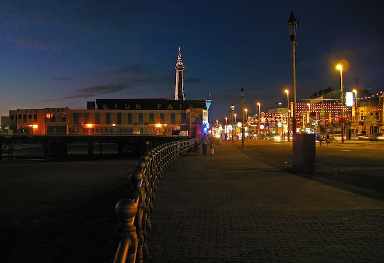 Best Western Carlton Hotel, Blackpool, Uitzicht vanaf hotel