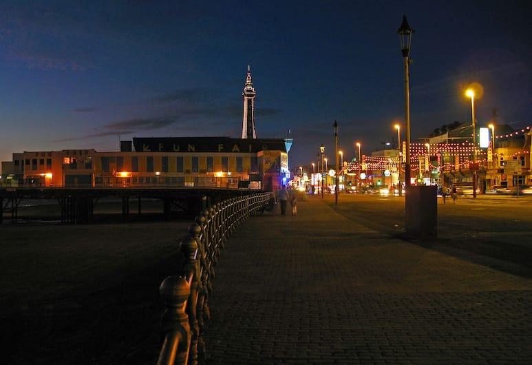 Best Western Carlton Hotel, Blackpool, Vista desde el hotel