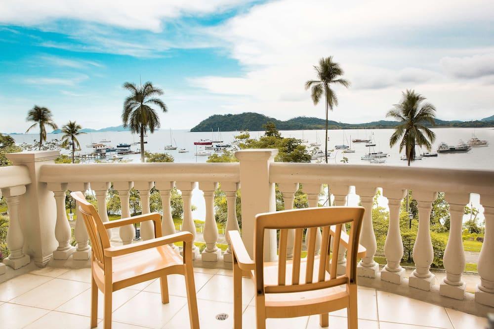 Habitación, 2 camas de matrimonio, no fumadores, vistas al mar (NonSmoking) - Vistas a la playa o el mar