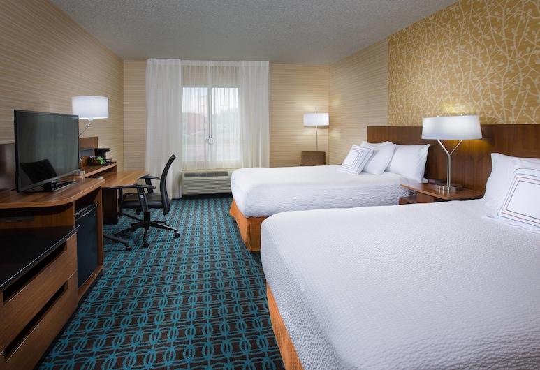 Fairfield Inn & Suites by Marriott Columbus OSU, Коламбус, Номер-люкс, 2 двоспальних ліжка, для некурців, Номер