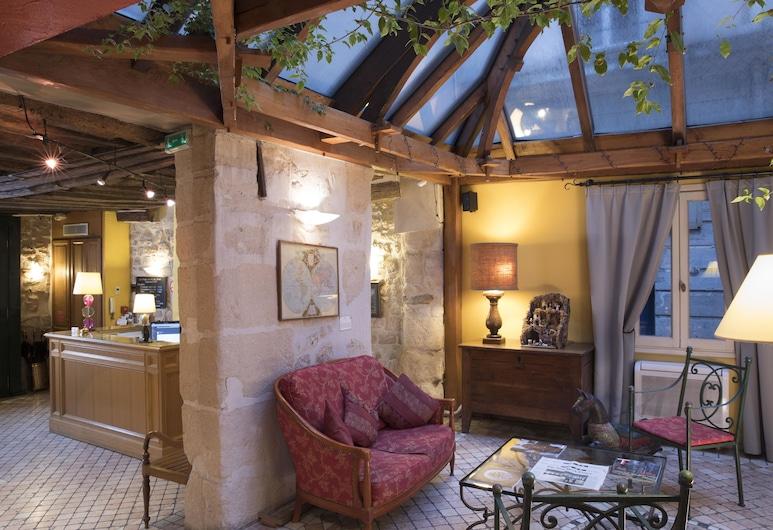 Hotel Les Rives De Notre Dame, Paris, Lobby Sitting Area