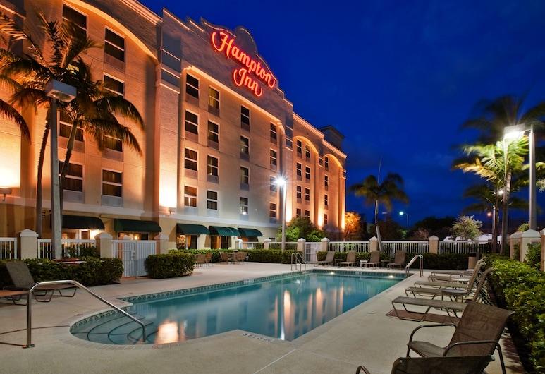 Hampton Inn Ft. Lauderdale Airport North Cruise Port, Fort Lauderdale, Vanjski bazen
