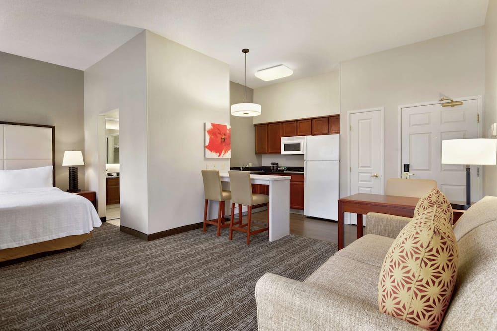 Suite, 1 King Bed, Accessible, Non Smoking - Living Area