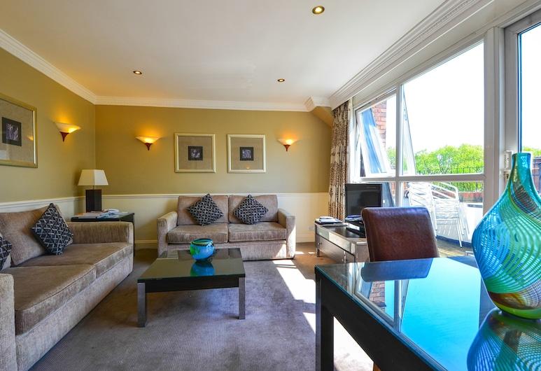 Collingham Serviced Apartments, London, Standard-Apartment, 2Schlafzimmer, 2 Bäder, Wohnbereich