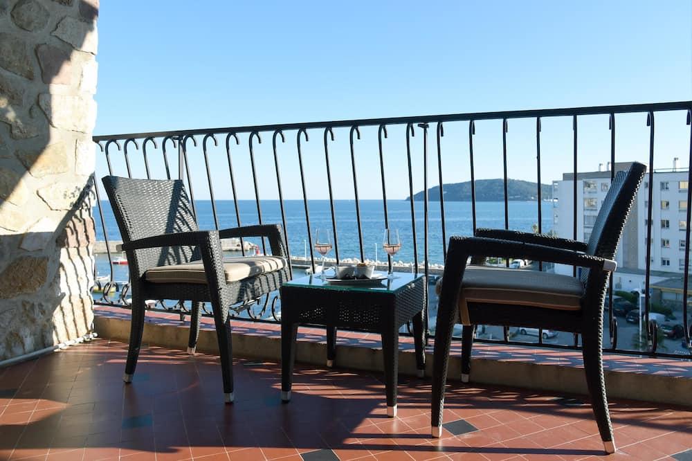 普通套房, 1 張加大雙人床和 1 張沙發床, 陽台, 海景 (with Sofabed) - 客房