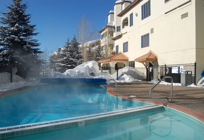 Terraces at Eagle Ridge by Mountain Resorts, Steamboat Springs, Apartment, 3 Schlafzimmer, Außenpool