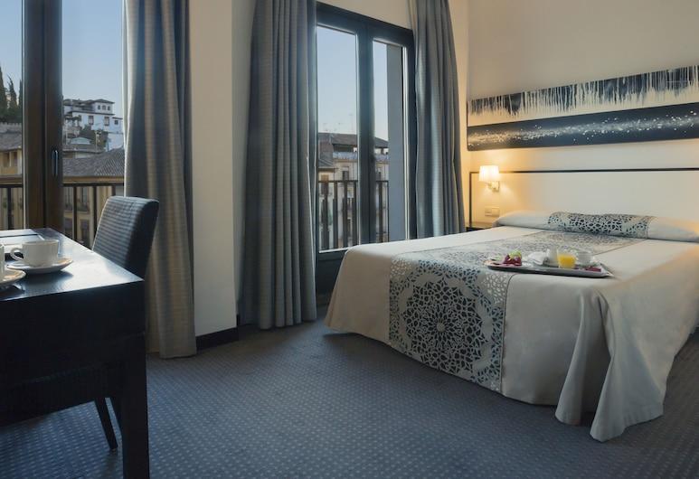 Hotel Macià Plaza, Granada, Szoba kétszemélyes vagy két külön ággyal, Vendégszoba