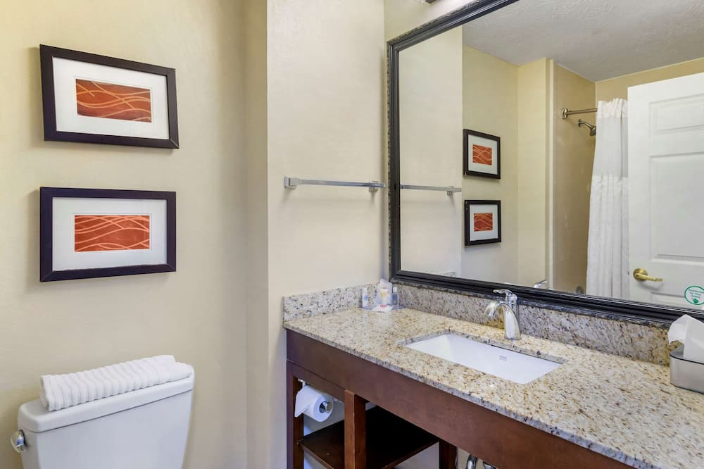 Standard tuba, 1 ülilai voodi, suitsetamine keelatud - Vannituba