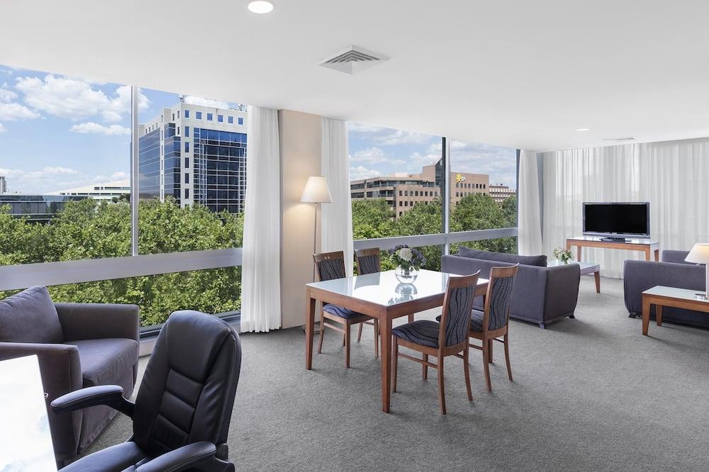Апартаменты, 2 спальни, для некурящих, кухня - Гостиная