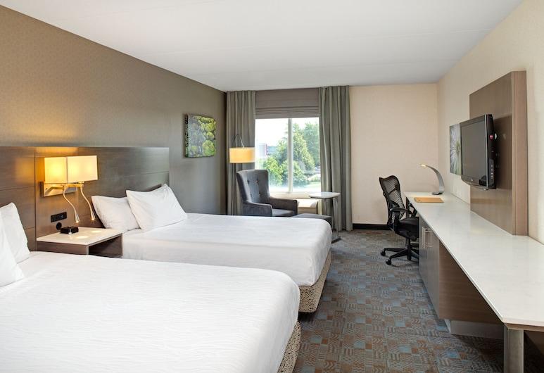 Hilton Garden Inn Toronto/Oakville, Oakville, Rom, 2 queensize-senger, Gjesterom