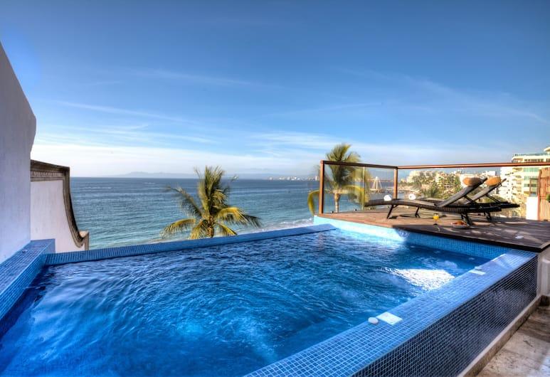 Vallarta Shores Beach Hotel, Puertovaljarta, Āra baseins