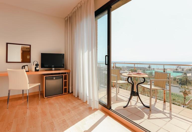 Hesperia Del Mar, Barcelona, Standard Room, View, Guest Room