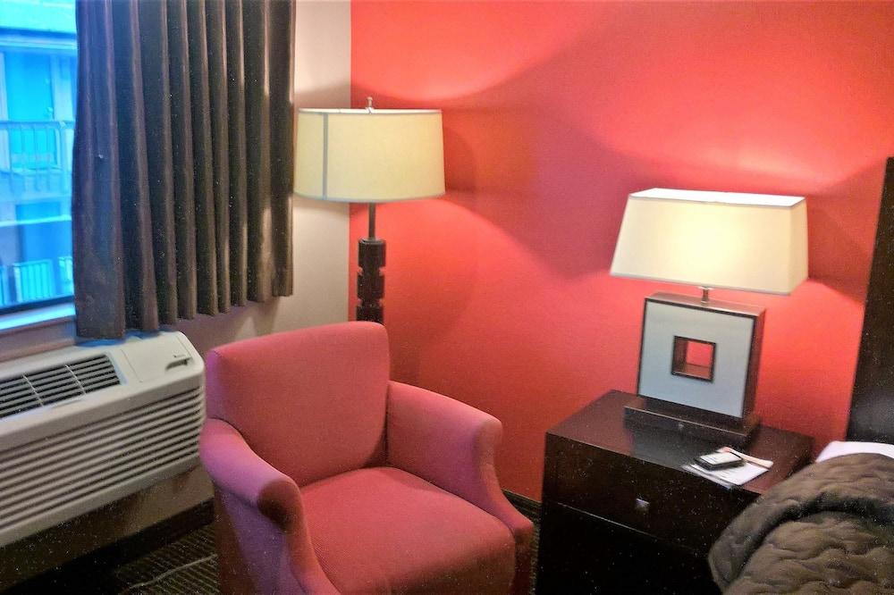 Standard-dobbeltværelse - 2 dobbeltsenge - Opholdsområde