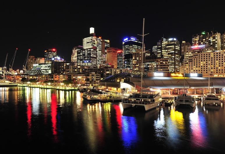 達令港 - 雪梨地鐵公寓飯店, 雪梨, 住宿正面 - 夜景