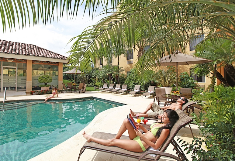 Quality Hotel Real San Jose, Santa Ana, Basen odkryty