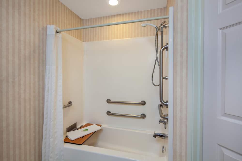 Studio Suite, 1 King Bed, Accessible, Non Smoking - Bathroom