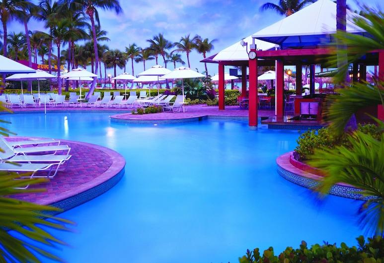 Marriott's Aruba Ocean Club, נורד, בר לצד הבריכה