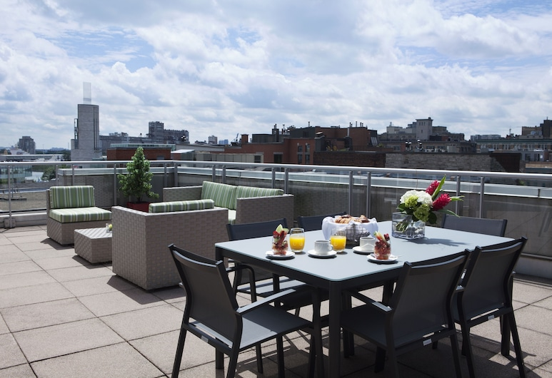 Le Saint Sulpice, Montreal, Suite, 1 cama king-size, Terraço (Signature Suite with Rooftop Terrace), Terraço/Pátio Interior